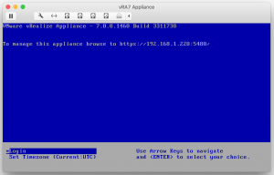 Deploy OVF Template Finished Deployment